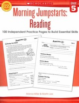 Morning Jumpstarts, Reading Grade 5: 100 Independent Practice Pages to Build Essential Skills
