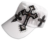 Designer Hat, Studded Cross