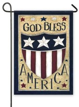 God Bless America Flag, Small