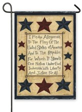 Pledge Of Allegiance Flag, Small