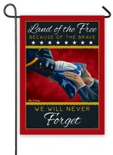 U S Marine Memorial Flag, Small
