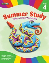 Summer Study Daily Activity Workbook: Grade 4