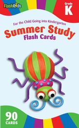 Summer Study Flash Cards: Grade K