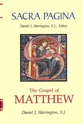 The Gospel of Matthew: Sacra Pagina [SP]  - Slightly Imperfect