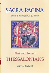 First and Second Thessalonians: Sacra Pagina [SP] (Hardcover)