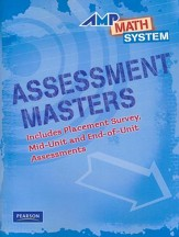 AMP Math System Assessment Masters Level 3