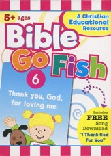 Bible Go Fish 50 Count Flashcard Game