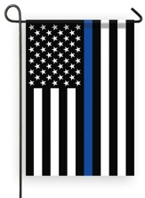 Thin Blue Line American Flag, Small