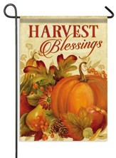 Harvest Blessings, Small Flag