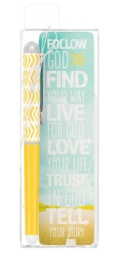 Find Your Way Pen & Bookmark