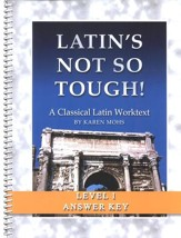 Latin's Not So Tough! Level 1 Full Text Answer Key