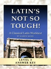 Latin's Not So Tough! Level 3 Full Text Answer Key