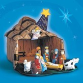 Nativity House Playset