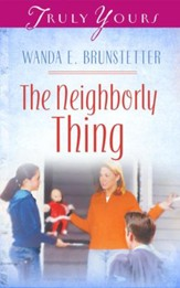 The Neighborly Thing - eBook