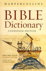 HarperCollins Bible Dictionary, Condensed Edition