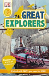 DK Readers L2: Great Explorers