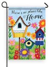 There's No Place Like Home, Birdhouses, Flag, Small