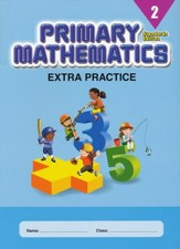 Primary Mathematics Extra Practice Book 2, Standards Edition