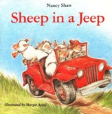 Sheep in a Jeep, Board Book