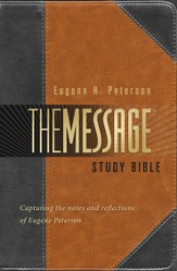 Annotated Message Study Bible - Slightly Imperfect