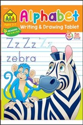 Alphabet Writing & Drawing Tablets Ages 3-7