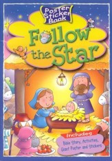 Follow the Star - Poster Sticker Book