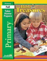 Bible Treasures Primary (Grades 1-2) Take-Home Papers