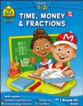Canadian Time, Money & Fractions,  Grades 1-2