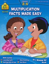 Multiplication Made Easy, Grades 3-4