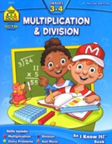 Multiplication & Division, Grades 3-4