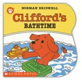 Clifford the Small Red Puppy: Clifford's Bathtime, Board Book
