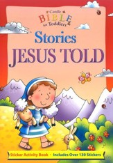 Candle Bible For Toddlers Sticker Fun: Stories Jesus Told