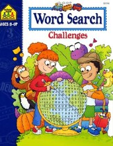 Word Search Challenges, Ages 8 & Up