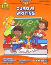 Cursive Writing, Grades 3-4