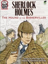 Color Your Own Graphic Novel: Sherlock Holmes