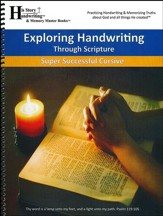 Exploring Handwriting Through Scripture (Cursive Edition)