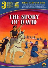 The Story of David, 3 Disc Multimedia Set