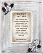 Blessed Mother Framed Art
