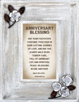 Anniversary Blessing Framed Art