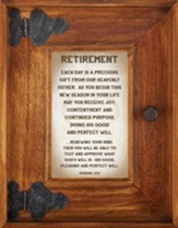 Retirement Framed Art