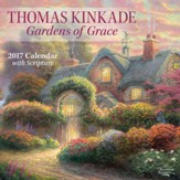 2017 Gardens Of Grace Wall Calendar