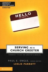 Serving As a Church Greeter (slightly imperfect)