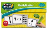 Power Pen Learning Cards: Multiplication, Grades 2-5