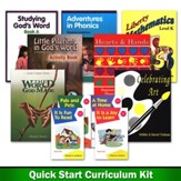 Homeschool Reviews/Home School, Inc. Kindergarten Quick Start Curriculum Kit