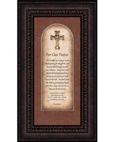 For Our Pastor, II Timothy 4:2, Framed Art