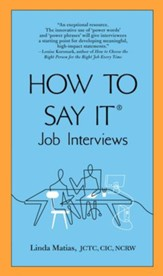 How to Say It Job Interviews - eBook