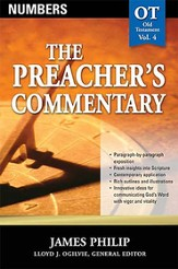 The Preacher's Commentary Vol 4: Numbers