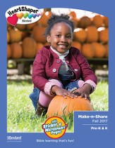 HeartShaper: Pre-K & K Make-n-Share, Fall 2017