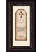 For Our Pastor and His Wife, I Thessalonians 1:3, Framed Art