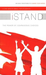 iStand One Minute Bible for Students: 365 Daily Devotions to  Change Your World - Slightly Imperfect